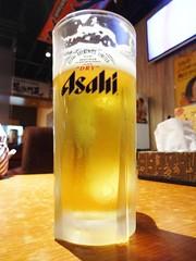 Midnight Beer and Ramen @Bishamonten, Gubei, Shanghai (Phreddie) Tags: china beer drunk work restaurant shanghai eat ramen midnight noodle soy bishamonten gubei tukemen 140710
