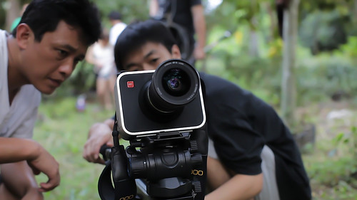 International Academy of Film and Television And Black Magic Filmmaking Camera
