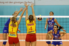 PG0O0849-fotogalerie-rv.ch (Robi33) Tags: game girl sport ball switzerland championship team women action basel tournament match network volleyball block volley referees viewers