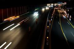 A40 bei Nacht bunt (tobiasdunkel) Tags: nacht a40 langebelichtung