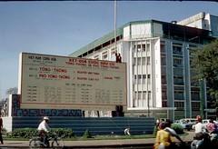 z Kết quả bầu cử TT và PTT được đặt tại vòng xoay Nguyễn Huệ - Lê Lợi 7 (Kho tàng ảnh lịch sử theo album) Tags: waite vietnam 1967 saigon bienhoa macv advisoryteam98 ductu