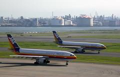 JAS JA8558, Airbus A300B4-622R at HND (tokyo70) Tags: travel japan tokyo tour jas a300