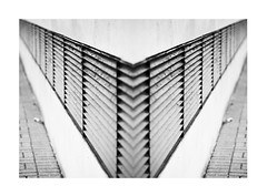 Invert... (Lady Haddon) Tags: london lines mirror invert se16 surreydocks 2014 pepysestate kimhaddonphotography jul2014