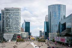 La Dfense Esplanade (alt) (Dan Guimberteau) Tags: paris france building architecture nikon ledefrance iledefrance modernarchitecture ladfense sigma1020mm courbevoie hautsdeseine