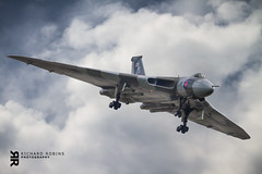 Vulcan B2 1 (Rich-Mate) Tags: uk b england southwest plane flying europe aircraft aviation events transport nuclear somerset location airshow planes b2 vulcan bomber coldwar airdisplay yeovilton yeoviltonairshow vulcantothesky yeoviltonairbase