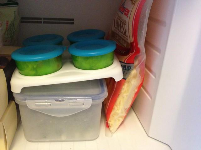 放在冰箱很容易堆疊!@Nuby 鮮果園系列副食品工具