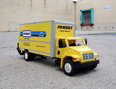 Penske Rental Truck (LegoMarat) Tags: truck lego rc modelteam penske legotechnic powerfunctions