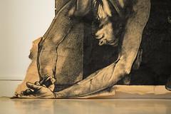 Exposition Ernest Pignon-Ernest et les peintres caravagesques au Muse de Vire - 2014 (Selbymay) Tags: drawing exhibition dessin exposition napoli naples 1990 pignonernest 2014 vire ernestpignonernest lecaravage pidmies