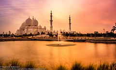 IMG_3279 (shantanu.16) Tags: city longexposure travel color detail reflection green monument bulb architecture photography eos lights evening cool twilight asia exposure cityscape uae sigma mosque emirates explore grandmosque 70d inexplore