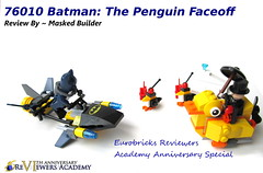 76010 Penguin Face Off (Masked Builder) Tags: face penguin lego review off academy reviewers eurobricks 76010