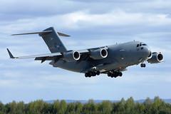 PAPA 02 NATO C-17A Oslo-Gardermoen 30/04/2014 (Tu154Dave) Tags: oslo norway nato osl c17a papa02 gardermeon