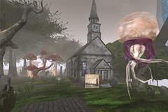 Innsmouth Church (Maudeline Kranfel) Tags: lovecraft hplovecraft lovefest lovefest2014