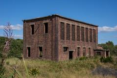 Ardeer (Caledonia84) Tags: abandoned scotland decay fisheye 1855mm peninsula 16mm derelict explosives ici ayrshire urbex ardeer sonynex5r