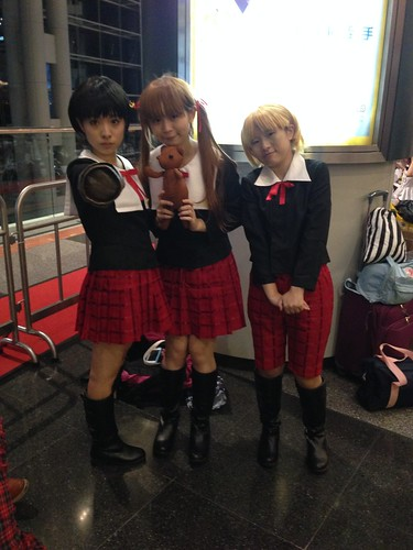 Alice Academy cosplayers