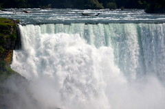 American Falls [Niagara Falls - 4 August 2014] (Doc. Ing.) Tags: wild summer usa ontario canada nature water river landscape niagarafalls waterfall power niagara waterfalls northamerica americanfalls escarpment on 2014 powerofnature