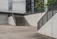 Berlin concrete architecture (Storkholm Photography) Tags: city windows building berlin glass architecture modern stairs germany concrete 50mm grey nikon downtown contemporary minimal bundestag mitte beton 50mmf14 arkitektur deutchland deutscherbundestag d610