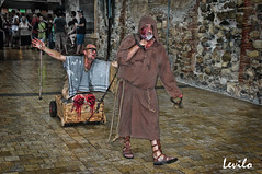 Besalú - Fira medieval 2014 (levilo) Tags: españa spain pentax medieval gore catalunya carrer fira garrotxa besalú levilo atrapats medievalfantasies carrerdelsatrapats