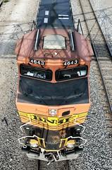 Locomotive 4643 BNSF (Adventurer Dustin Holmes) Tags: railroad train locomotive bnsf burlingtonnorthern burlingtonnorthernsantafe 4643