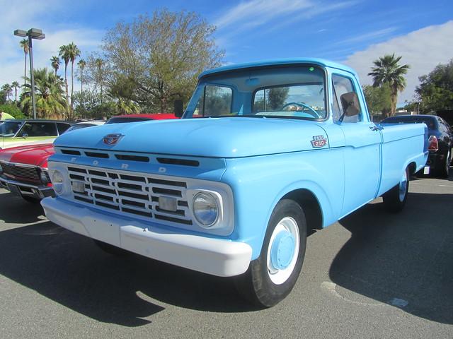 ford truck pickup v8 1964 f250