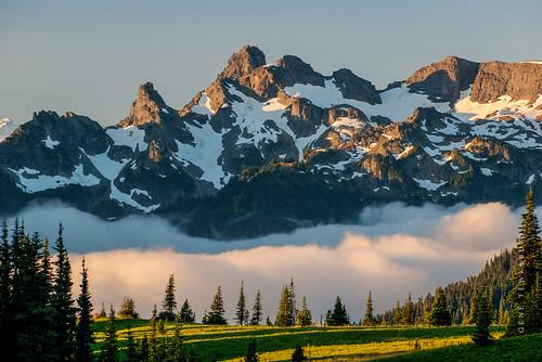 Mountain Rainier Sunrise