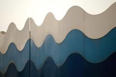 Waves (alezarp75) Tags: blue sea italy building beach colours spiaggia architettura bibione onde chiosco