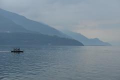 Italy, Lago di Como (dscheronimo) Tags: travel italien italy lago boot nikon aqua wasser barca berge reise d800 lagodicomo rudern comersee