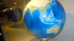 IMG_1930 - Melbourne Museum : Evolution of our planet Earth (aciamax) Tags: globe earth evolution planet land atlas seas