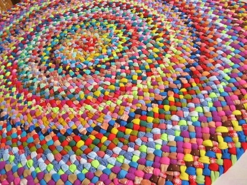 Colorful Round Rugs Home Decor