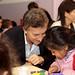 Mauricio Macri felicito a los maestros en su día en el CPI