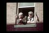 ss10-25 (ndpa / s. lundeen, archivist) Tags: color film window boston 1971 massachusetts nick slide flags slideshow 1970s bostonians bostonian dewolf bunkerhillday nickdewolf photographbynickdewolf slideshow10 bunkerhilldayparade