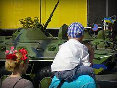 Independence Day parade, Kreschatik St., Kyiv (Cad-Kyiv) Tags: people ukraine independenceday kiev kyiv militaryparade kreschatik