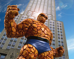 The Thing - Clobberin Time (Blindzider) Tags: four fantastic ben thing bowen marvel grimm