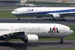 JA8942 B777-300 Japan Airlines (JaffaPix +5 million views-thanks...) Tags: jaffapix davejefferys tokyoairport japan aircraft airplane aeroplane aviation flying flight runway airline airliner hnd haneda tokyohaneda hanedaairport ana allnippon allnipponairlines ja jal japanairlines ja8942 b777300 b773 777 b777 777300 boeing ja753a plane rjtt planespotting