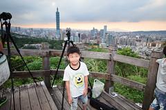 IMG_4611 (JIMI_lin) Tags: sunset 101 taipei 信義區 觀音山 大冒險 虎山峰