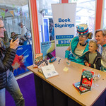 Sarah McIntyre and Philip Reeve book signing