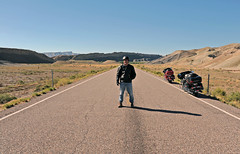 On the road to Capitol Reef, Utah (Biketripper) Tags: