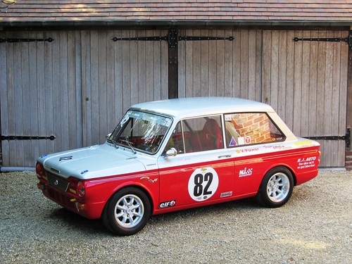 Sunbeam Imp FIA historic racing car (1964).