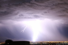 Brightest Ligntning (Photobug70D) Tags: mountains clouds lasvegas lightning