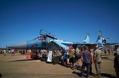 Aggressor Blue (BHCMBailey) Tags: blue fighter jet 70 sq squadron 57th f15 65th aggressor