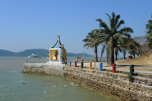 Southernmost point of mainland Myanmar