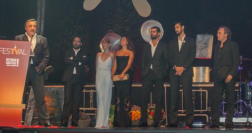 """Parte del equipo de """"El Príncipe"""" en el FesTVal 2014"""