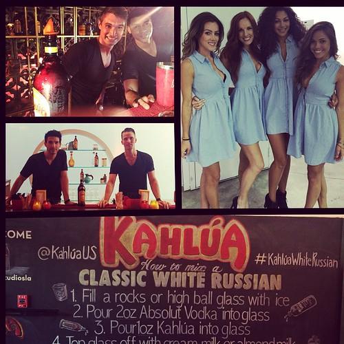 White Russian screening with @kahluaus last night @sirenstudiosla! #JeffBridges #events #eventlife #staff #servers #models #hollywood #bartenders #KahluaWhiteRussian #blackrussian #200ProofLA #200Proof