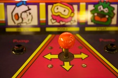Dig Dug (little fern photography) Tags: show seattle fire jump nw shoot northwest buttons arcade hobby joystick retro videogames 80s button pacificnorthwest videogame hobbies highscore gameroom pacificnw arcadegame arcardes nwpinballandgameroomshow