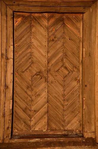 Palūšė Church Door