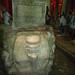 Upside down Medusa head at Basilica Cisterns, Istanbul