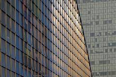 Sunny arc (marko.erman) Tags: sun paris reflection architecture modern arc sunny curve reflexions dfense