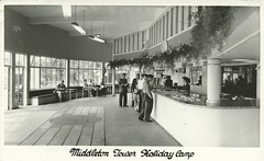 Middleton Tower Holiday Camp - Reception (trainsandstuff) Tags: vintage retro archival morecambe pontins holidaycamp middletontower fredpontin