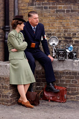 Salute to the 40s 2014 (Colour) (Scott (SNICOL PHOTOS)) Tags: wwii worldwarii chatham chathamhistoricdockyard salutetothe40s