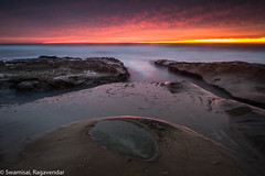 Red Eye (Dirty Camera) Tags: ocean california longexposure sunset seascape landscape rocks surf sandiego lajolla socal southerncalifornia landscapephotography savethelightphotography