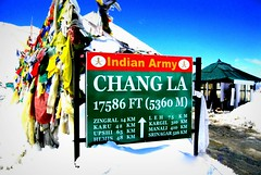 High altitude pass, Ladakh (sunlitnights) Tags: india snow mountains ice kashmir himalayas ladakh changla changlapass armyoutpost